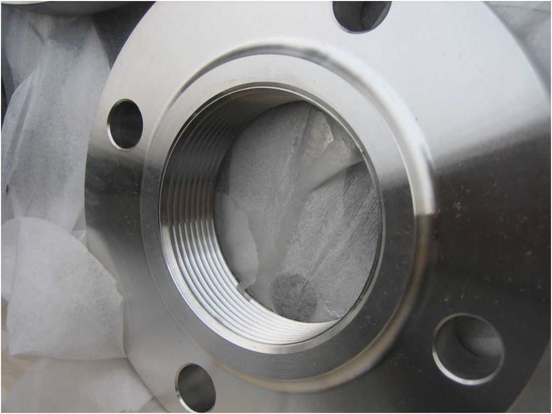 Thread Flange With Raised Face