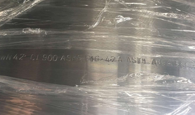 ASTM-A694-F65-Forged-steel-flange
