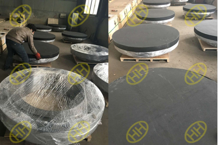 Hebei Haihao Group finished high pressure flanges packing.