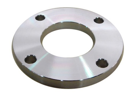 Steel plate flange plate face