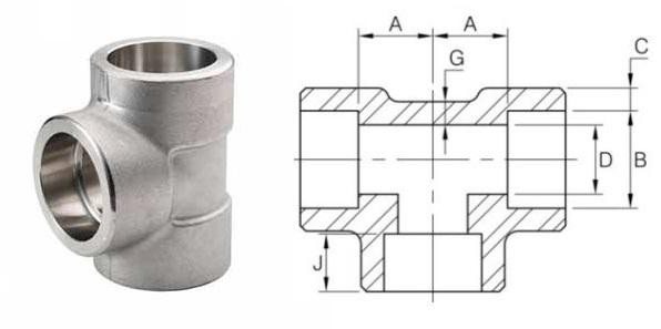 socket-weld-pipe-tee
